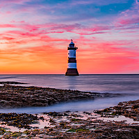 Buy canvas prints of Golden Sky's and Misty Seas by Kingsley Summers
