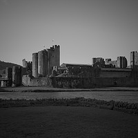 Buy canvas prints of  Caerphilly Castle                                by jason jones