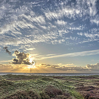 Buy canvas prints of From dunes to sky by Kevin Arscott