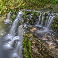 Buy canvas prints of Sgwd y Pannwr Waterfall by Kevin Arscott