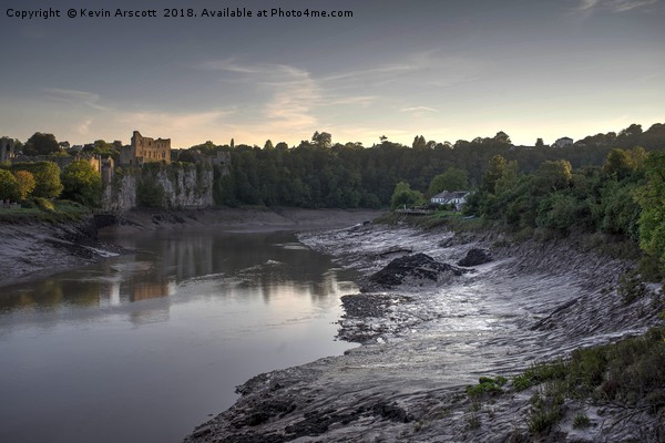 Chepstow Castle, South Wales Framed Mounted Print by Kevin Arscott