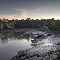 Buy canvas prints of Chepstow Castle, South Wales by Kevin Arscott