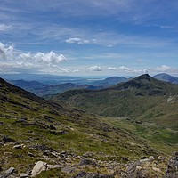 Buy canvas prints of Snowdonia Landscape by Kevin Arscott