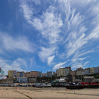Buy canvas prints of Tenby Harbour by Kevin Arscott