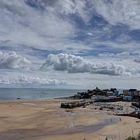 Buy canvas prints of Tenby Harbour, Wales by Kevin Arscott