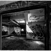 Buy canvas prints of Dilapidation by Peter Anthony Rollings