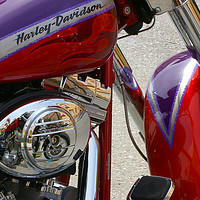 Buy canvas prints of Harley Davidson by Nick Keown