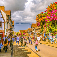Buy canvas prints of Street life in Stratford Upon Avon  by Ian Stone