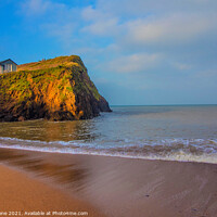 Buy canvas prints of Hope Cove huts  by Ian Stone