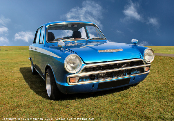 Ford Cortina Mark 1 Canvas print by Kevin Maughan