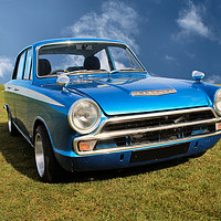 Buy canvas prints of Ford Cortina Mark 1 by Kevin Maughan