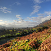 Buy canvas prints of A Lake District Landscape by Philip Brown