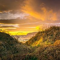 Buy canvas prints of Winter Beach at Kildonan by David Brookens