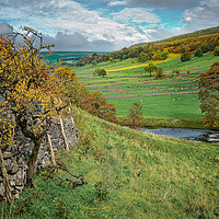 Buy canvas prints of Autumn Afternoon in Wharfedale by David Brookens