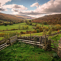 Buy canvas prints of Langstrothdale Chase by David Brookens