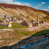 Buy canvas prints of Old Gang Mill 3 by David Brookens