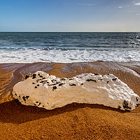 Buy canvas prints of Rocky beach by Stuart C. Clarke