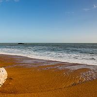 Buy canvas prints of Durdle Door beach by Stuart C. Clarke