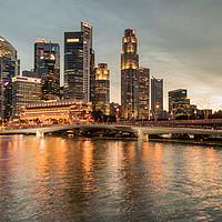 Buy canvas prints of Marina Bay, Singapore by Stuart C Clarke