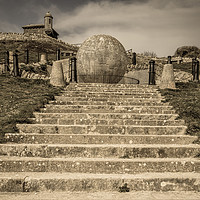 Buy canvas prints of The Great Globe, Swanage by Stuart C Clarke