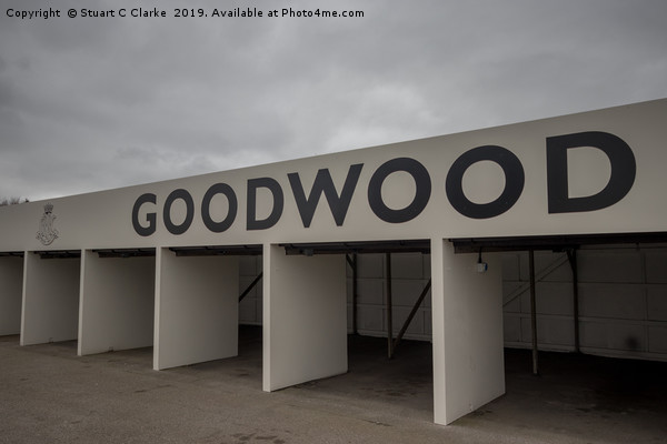 Goodwood Motor Circuit Canvas print by Stuart C Clarke