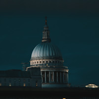 Buy canvas prints of St. Paul's Cathedral by Iacopo Navari