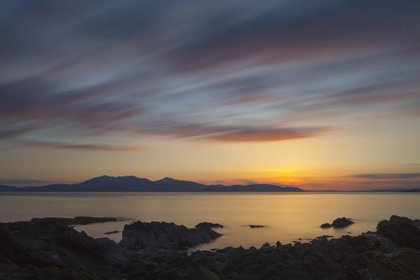 Isle of Arran  Canvas print by Robert McCristall