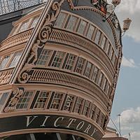 Buy canvas prints of HMS Victory by Jose Eduardo Leite Vieira