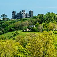 Buy canvas prints of Riber Castle, Matlock, Derbyshire by Lisa Hands