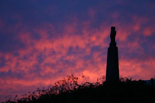 Cornish Sunset Canvas Print by Nathalie Hales