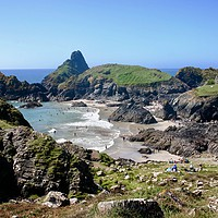 Buy canvas prints of Kynance Cove by Nathalie Hales