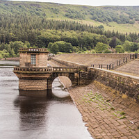 Buy canvas prints of Lady-bowers Dam  by Holly Burgess