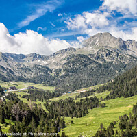 Buy canvas prints of Andorra Mountains  by Holly Burgess