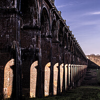 Buy canvas prints of Ouse Valley Viaduct  by robin whitehead