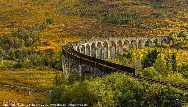 Glenfinnan Viaduct Framed Print by Jenny Hibbert