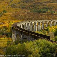Buy canvas prints of Glenfinnan Viaduct by Jenny Hibbert