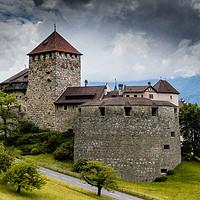Buy canvas prints of Vaduz Castle by Nando Lardi
