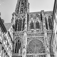 Buy canvas prints of Strasbourg Cathedral by Nando Lardi