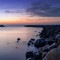 Buy canvas prints of Lohme Jetty by DiFigiano Photography