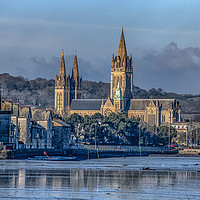 Buy canvas prints of Truro-Cathedral Cornwall by kathy white