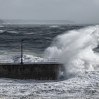Buy canvas prints of Porthleven Cornwall by kathy white