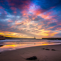 Buy canvas prints of Seaham Morning by Robert Barnes