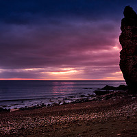 Buy canvas prints of Chemical Beach at the Crack of Dawn by Robert Barnes