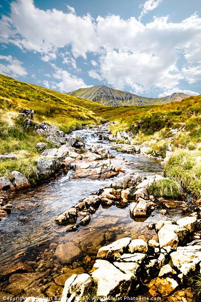 Mountain Streams Canvas Print by Robert Barnes