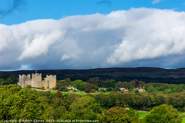 Bolton Castle Canvas print by Robert Barnes