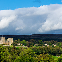 Buy canvas prints of Bolton Castle by Robert Barnes