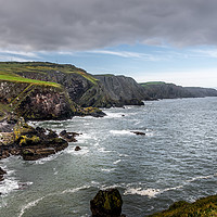Buy canvas prints of Saint Abbs Northern Coastline by Robert Barnes
