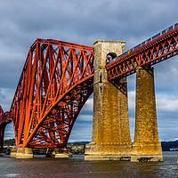 Buy canvas prints of The Forth Bridge by Robert Barnes
