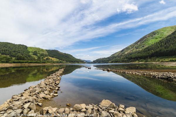 Reflections At Thirlmere Lake Canvas print by Robert Barnes