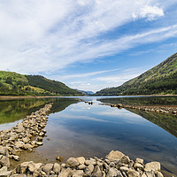 Buy canvas prints of Reflections At Thirlmere Lake by Robert Barnes